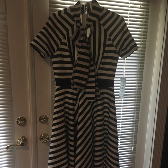 lilly ann taylor Dresses & Skirts - Lilly Ann Taylor in style black and white dress